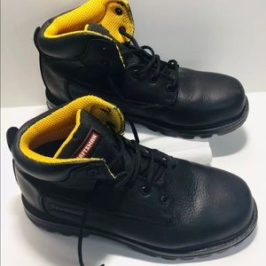 Craftsman Men  Boots 20883 Black Leather Size 12M